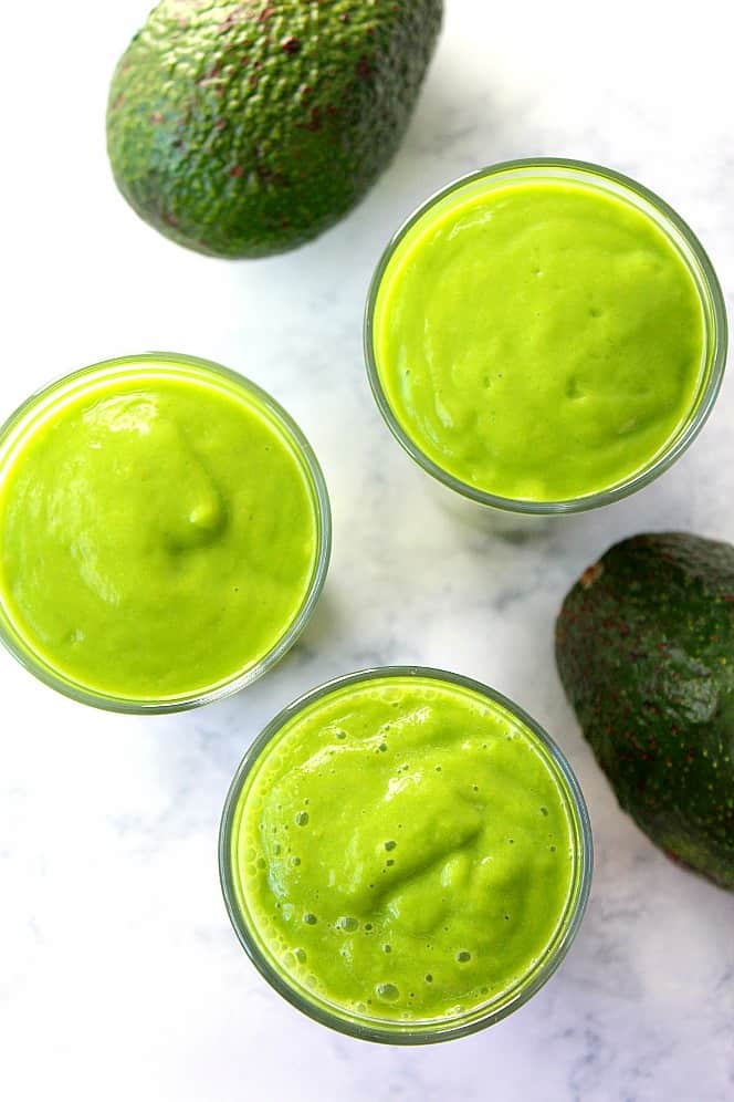 avocado smoothie recipe 6 25 Delicious Avocado Recipes
