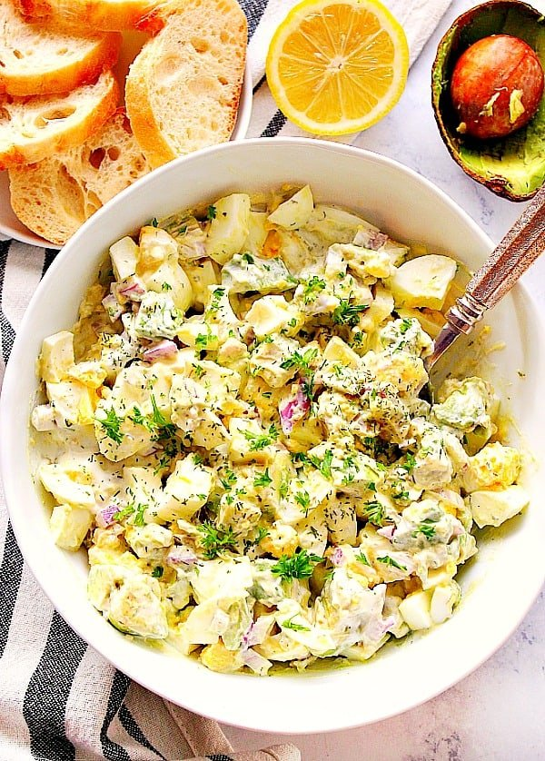 avocado egg salad A Avocado Egg Salad Recipe