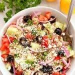 barley greek salad 2 150x150 Greek Salad with Barley Recipe