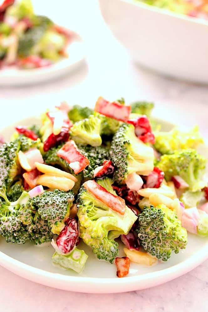 easy broccoli salad recipe Easy Broccoli Salad