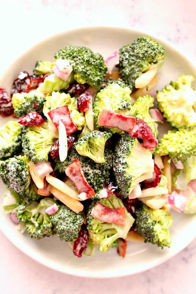 my favorite broccoli salad  Quick and Easy Broccoli Salad Recipe
