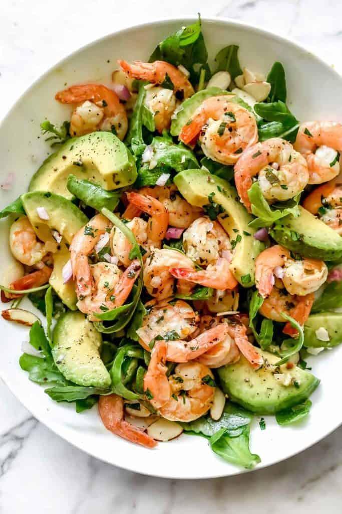 Citrus Shrimp Avocado Salad foodiecrush.com 001 683x1024 683x1024 25 Delicious Avocado Recipes