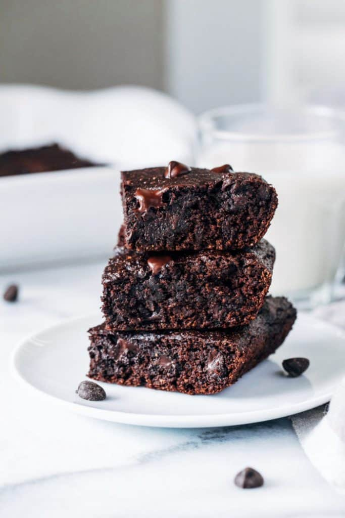 Vegan Avocado Brownies 1 700x1050 683x1024 25 Delicious Avocado Recipes