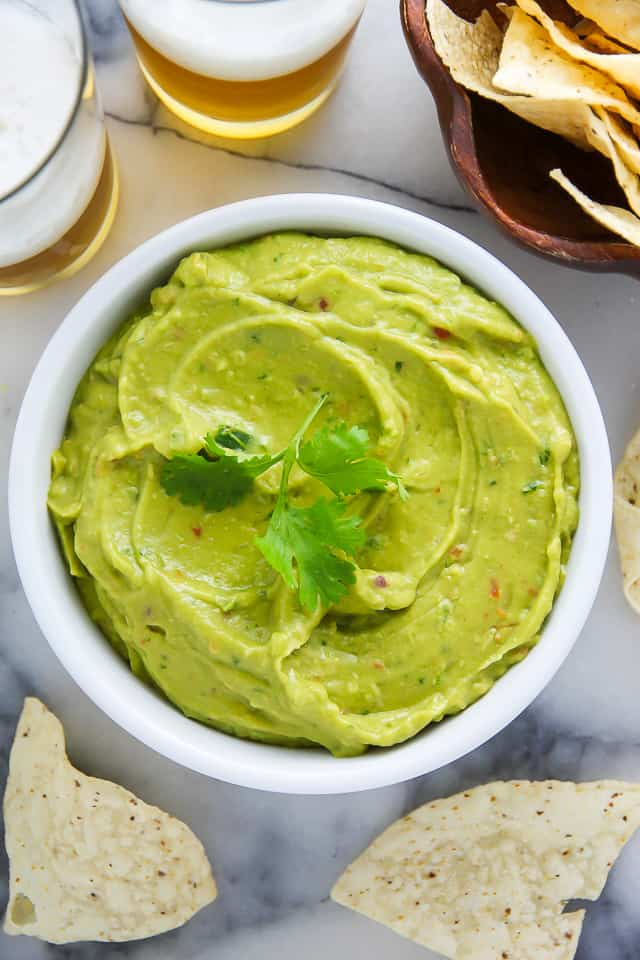 avocado dip 25 Delicious Avocado Recipes