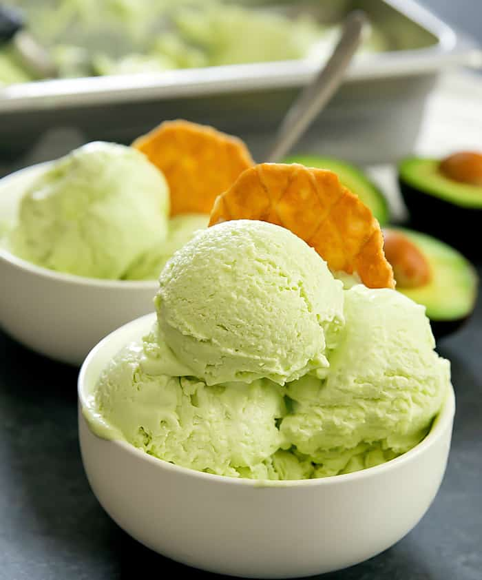 avocado ice cream 20a 25 Delicious Avocado Recipes