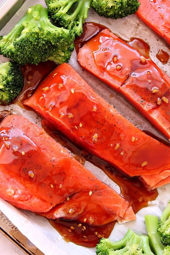 baked teriyaki salmon 2 Baked Teriyaki Salmon Recipe