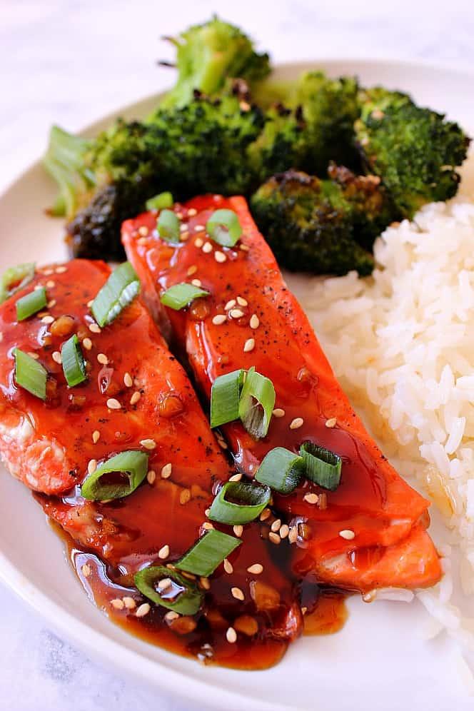 baked teriyaki salmon 3 Baked Teriyaki Salmon Recipe