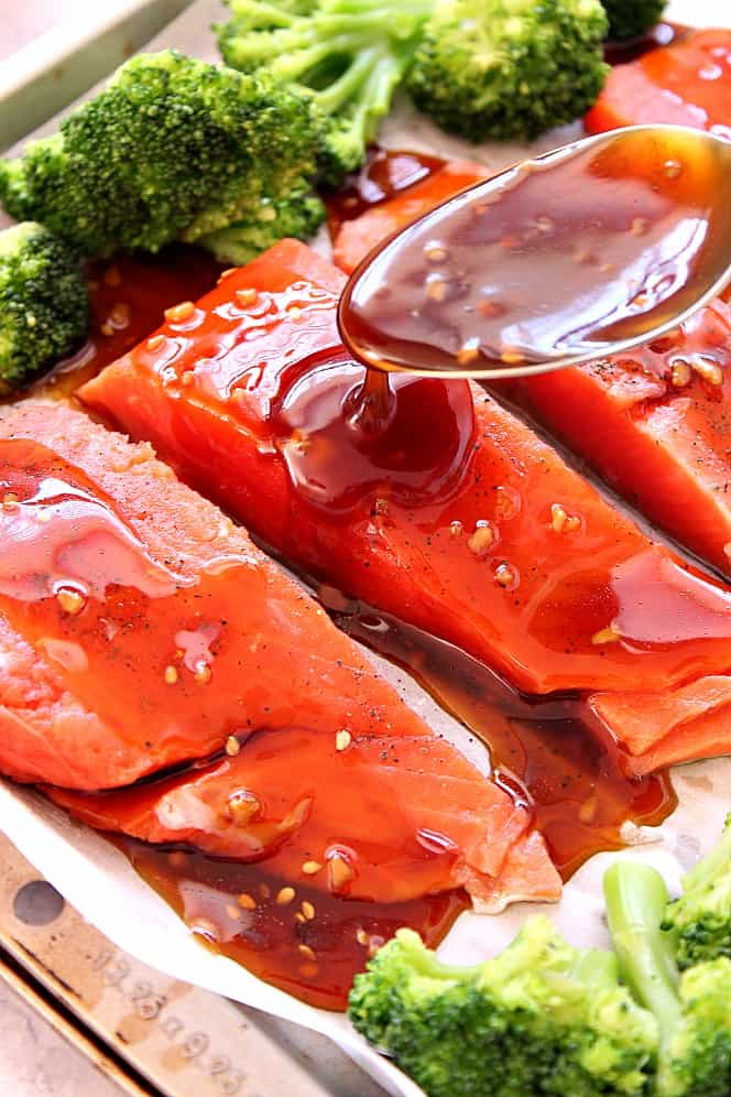 Baked Teriyaki Salmon 4 Recipe