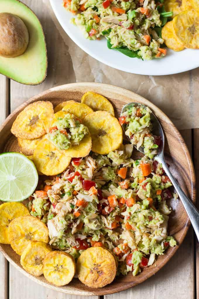paleo avocado tuna salad 25 Delicious Avocado Recipes