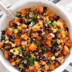 sweet potato quinoa salad 2 150x150 Roasted Sweet Potato Black Bean Quinoa Salad Recipe