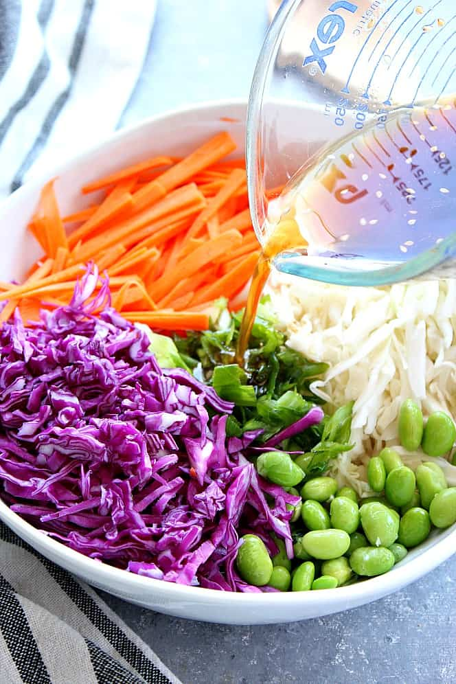 Asian slaw 3 Asian Slaw Recipe