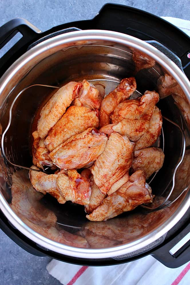Instant Pot BBQ chicken wings 7 Instant Pot BBQ Chicken Wings Recipe