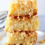 pineapple coconut crumb bars 6 150x150 Pineapple Coconut Crumb Bars Recipe