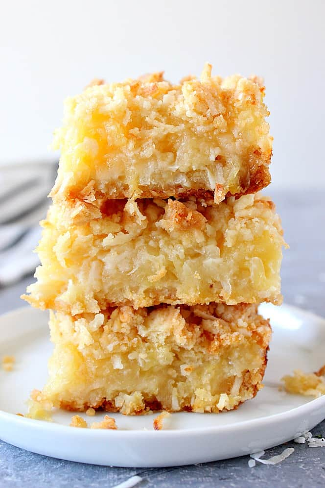 pineapple coconut crumb bars 6 Pineapple Coconut Crumb Bars Recipe