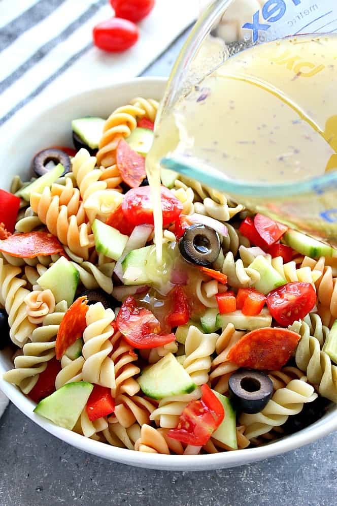 Italian pasta salad 2 Italian Pasta Salad Recipe