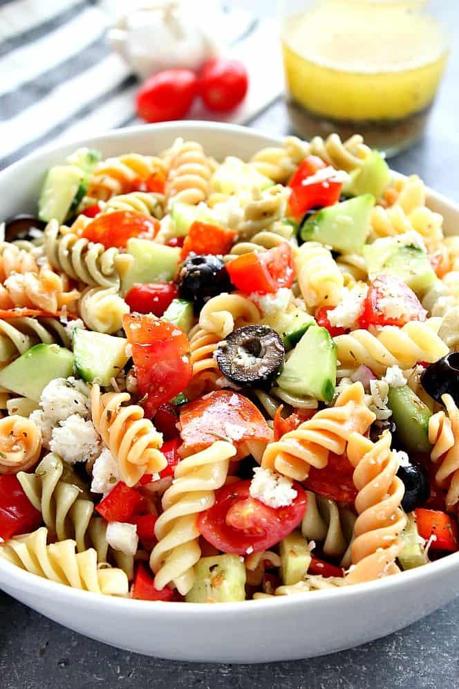 Italian pasta salad 4 Italian Pasta Salad Recipe