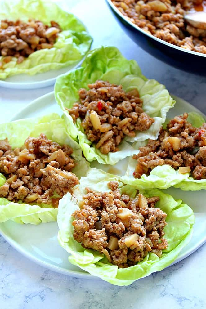 chicken lettuce cups 3 Quick and Easy Asian Takeout Recipes
