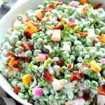 creamy green pea salad 3 150x150 Creamy Pea Salad with Bacon
