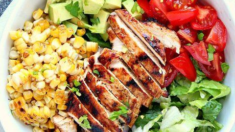 Summer Grilled Chicken Salad Recipes