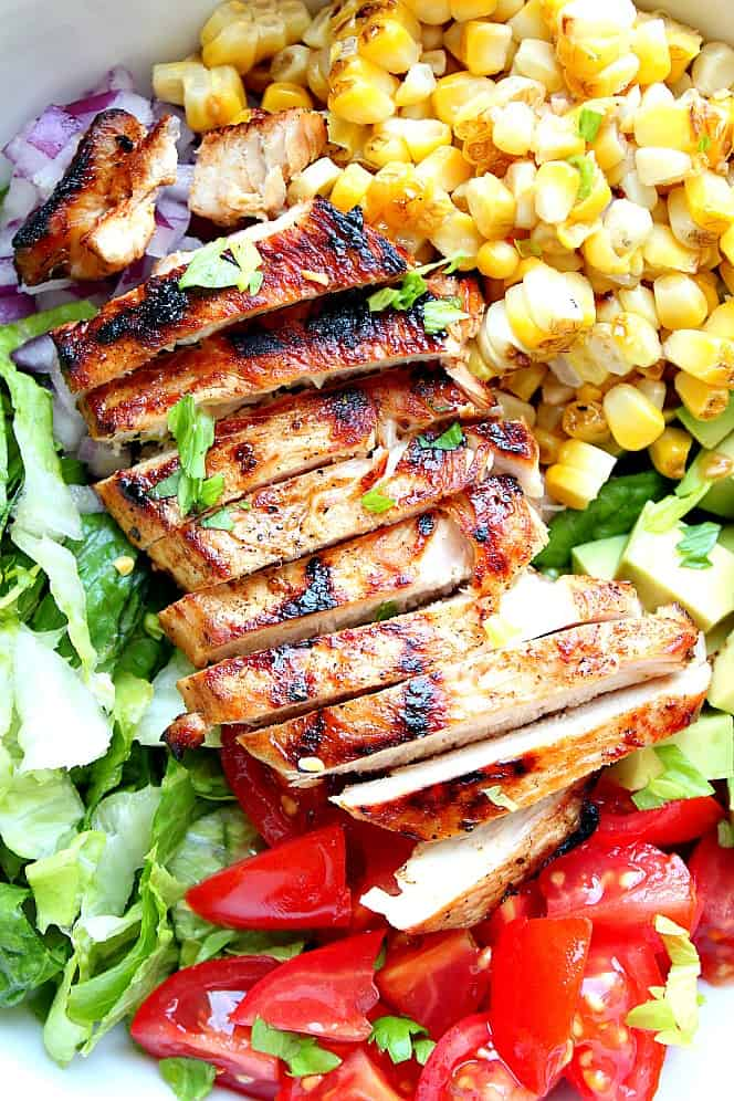 easy grilled chicken salad 3 Grilled Chicken Salad Recipe