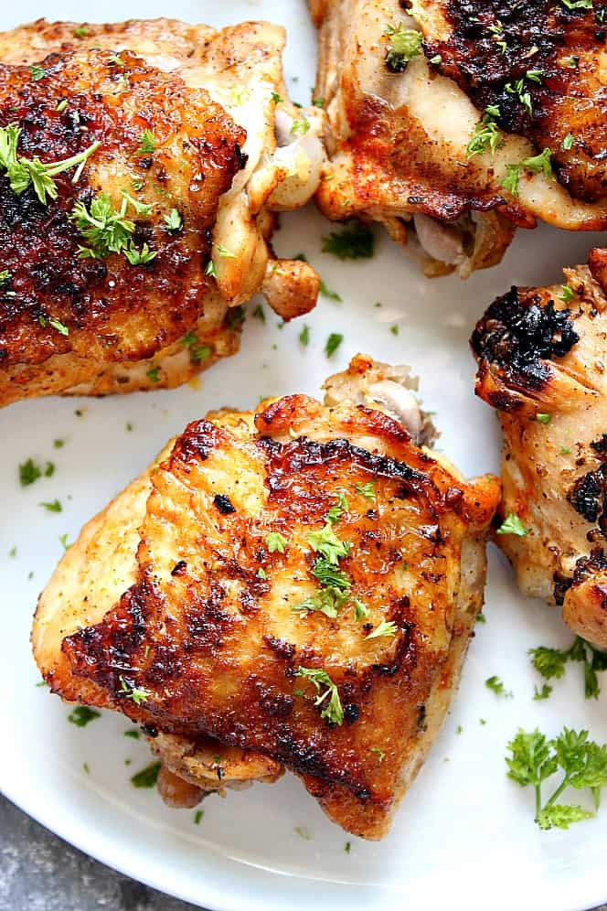 instant pot chicken thighs 4 Healthy Instant Pot Recipes for Everyone