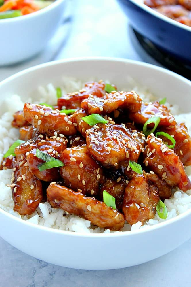 Easy Sesame Chicken Recipe Crunchy Creamy Sweet