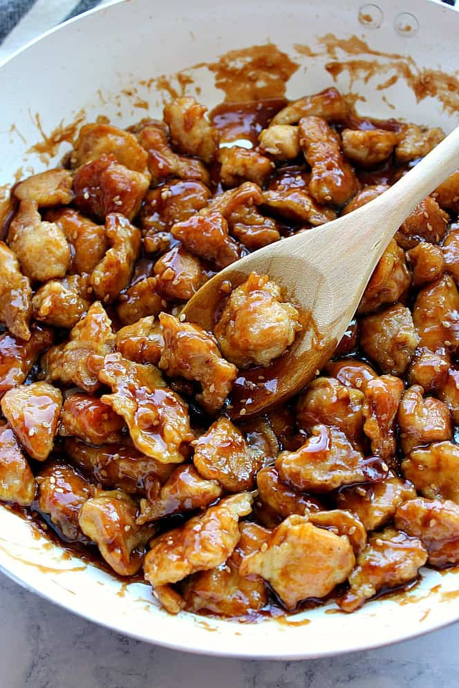 Easy Sesame Chicken Recipe Crunchy Creamy Sweet