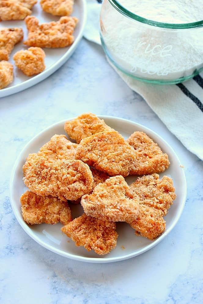 gluten free chicken nuggets 1a Gluten Free Baked Chicken Nuggets Recipe