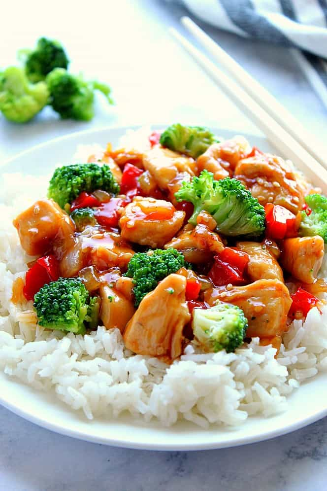 teriyaki chicken vegetable stir fry 10 Teriyaki Chicken Stir Fry Recipe