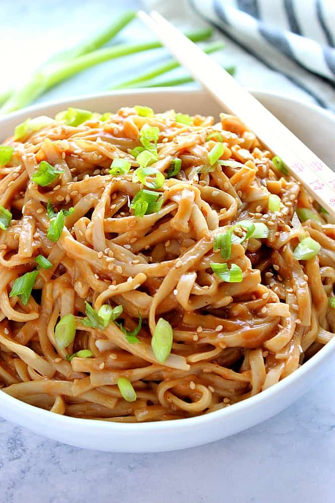 thai peanut noodles 6 Thai Peanut Noodles Recipe