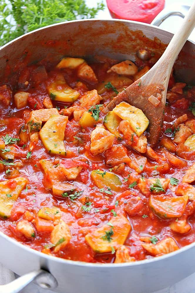 chicken ratatouille 4 One Pot Chicken Ratatouille Recipe