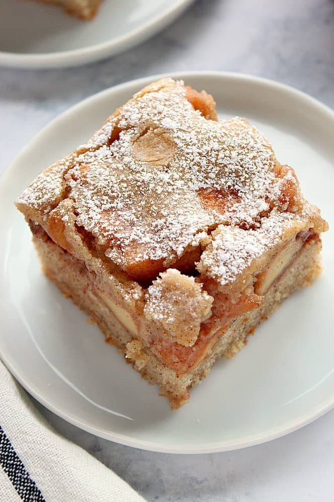 Cinnamon Apple Cake Recipe Crunchy Creamy Sweet