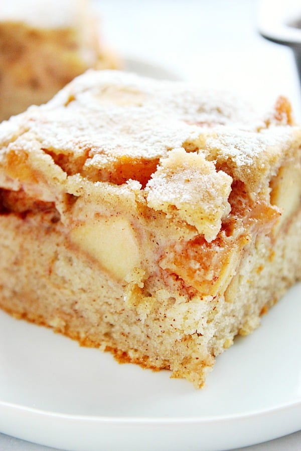 cinnamon apple cake B Cinnamon Apple Cake Recipe