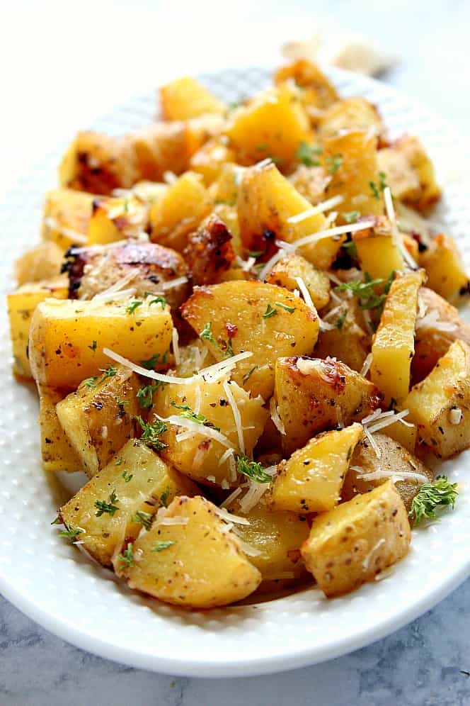 garlic ranch roasted potatoes 6 Garlic Ranch Roasted Potatoes Recipe