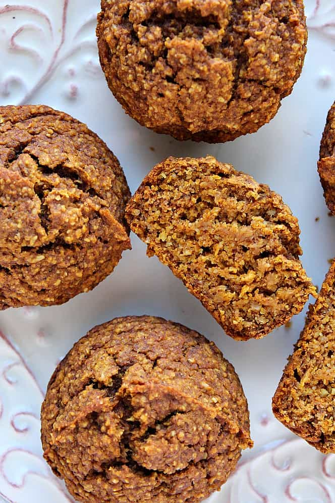 healthy pumpkin muffins 5 Healthy Pumpkin Muffins Recipe (Gluten Free, Vegan)