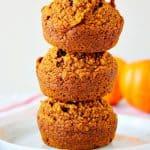healthy pumpkin muffins A 150x150 Healthy Pumpkin Muffins Recipe (Gluten Free, Vegan)