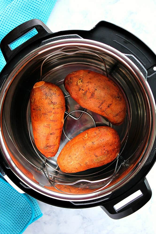 instant pot sweet potatoes 7 Instant Pot Sweet Potatoes (with shortcut!)