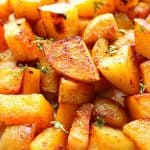 oven roasted potatoes A 150x150 Easy Oven Roasted Potatoes Recipe