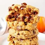 pumpkin oatmeal cookies A 150x150 Pumpkin Oatmeal Chocolate Chip Cookies