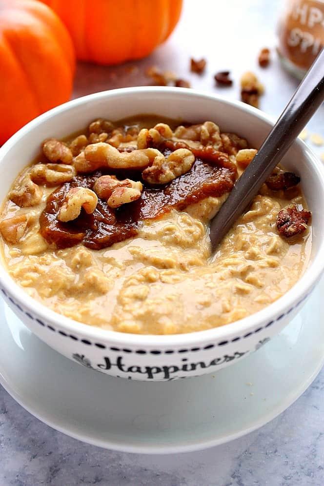pumpkin pie overnight oats 5 Pumpkin Pie Overnight Oats Recipe