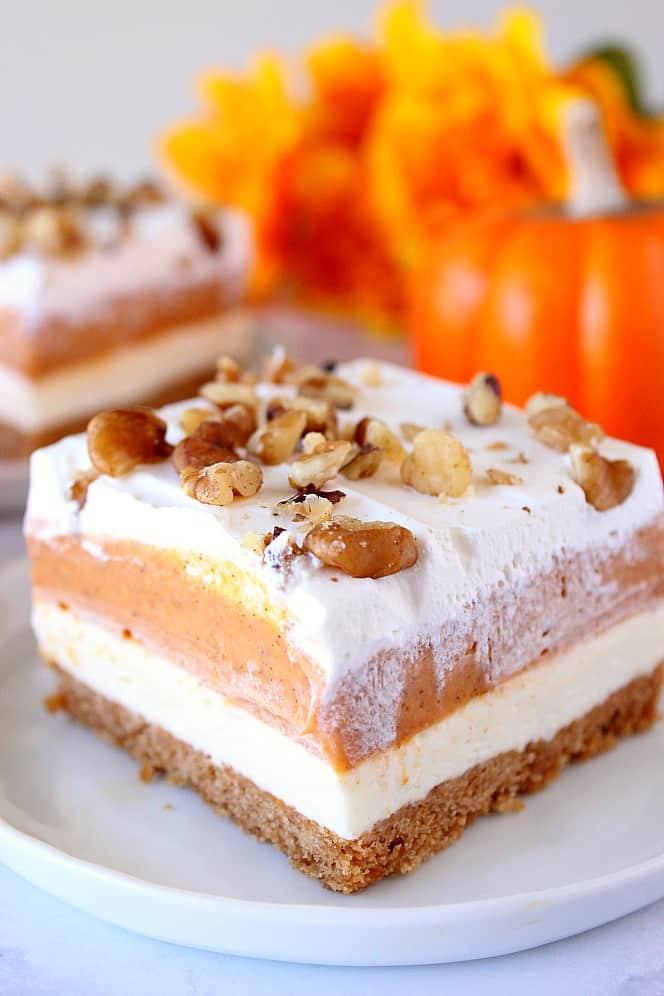 pumpkin lush dessert 3 Pumpkin Lush Dessert Recipe