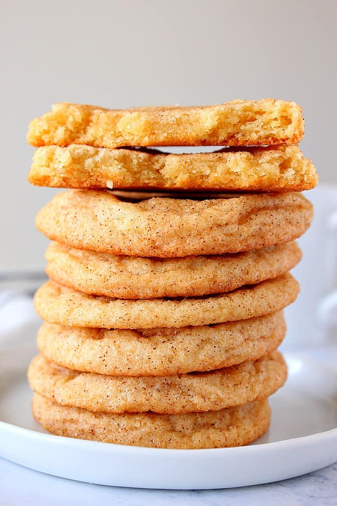 the best snickerdoodles 4 The Best Chewy Snickerdoodles Recipe