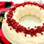 Christmas Pavlova Wreath is a beautiful dessert for the holidays. 150x150 Christmas Pavlova Recipe