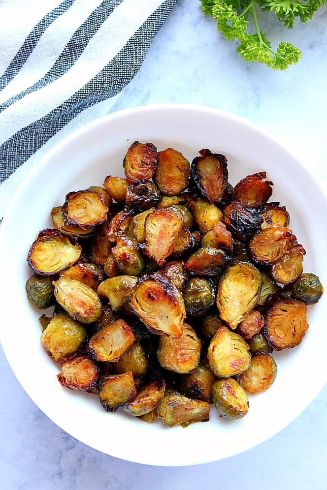 honey balsamic roasted brussels sprouts 3 Honey Balsamic Roasted Brussels Sprouts Recipe