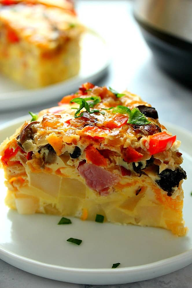 Instant Pot Breakfast Egg Casserole Recipe Instant Pot Breakfast Egg Casserole Recipe