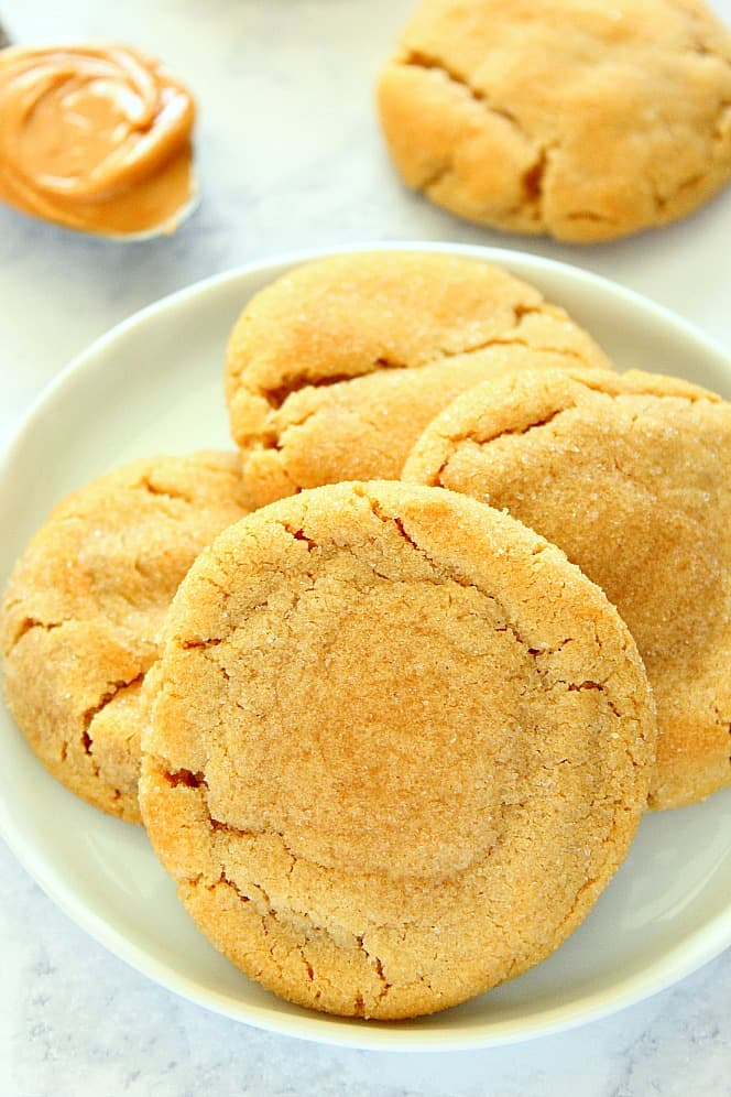 Soft and Chewy Peanut Butter Cookies 2a Soft and Chewy Peanut Butter Cookies