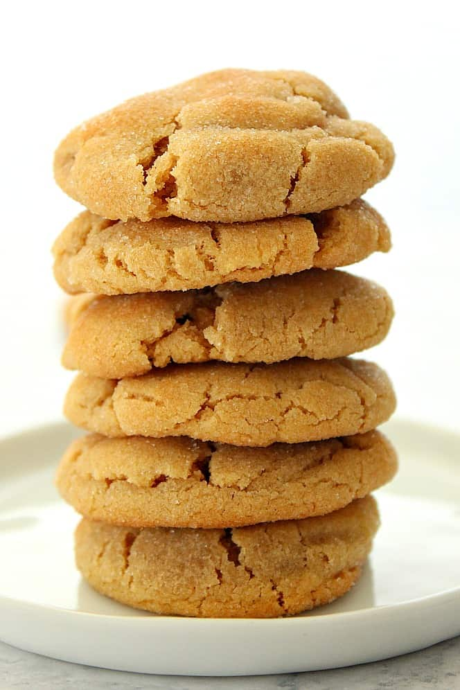 Soft and Chewy Peanut Butter Cookies 4 Soft and Chewy Peanut Butter Cookies