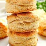 flaky buttermilk biscuits A 150x150 Flaky Buttermilk Biscuits Recipe (VIDEO)