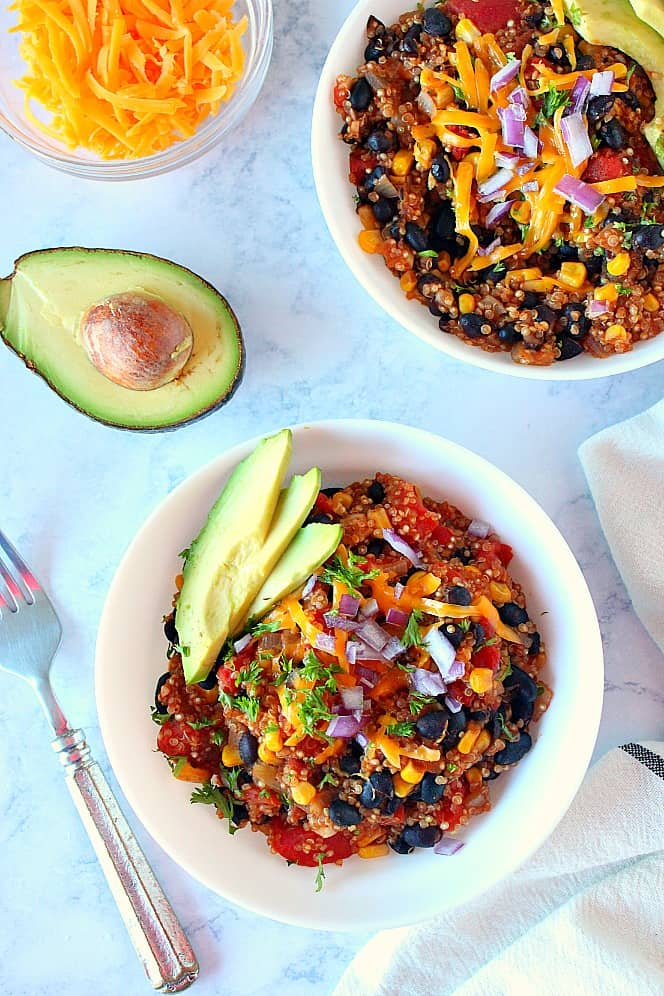 Instant Pot Mexican Quinoa 8 Instant Pot Mexican Quinoa Recipe