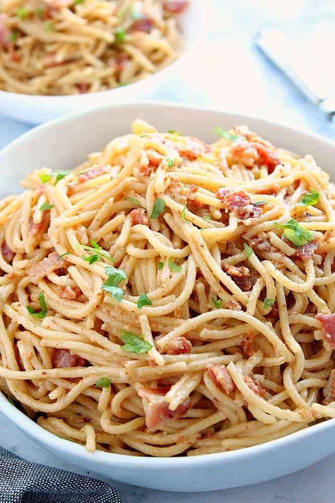 Instant Pot Pasta Carbonara 3a Instant Pot Pasta Carbonara Recipe